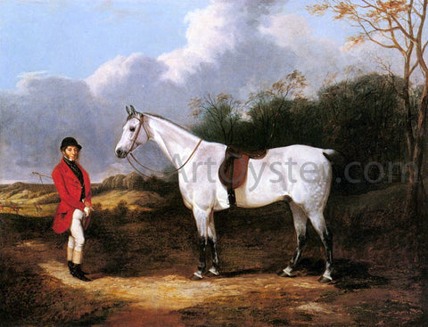 Abraham Cooper Mr. Stillwell with is Favorite Hunter - Hand Painted Oil Painting