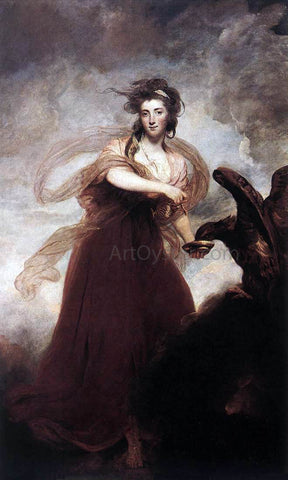 Sir Joshua Reynolds Mrs. Musters as Hebe - Hand Painted Oil Painting