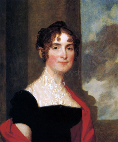 Gilbert Stuart Mrs. Polly Hooper - Hand Painted Oil Painting