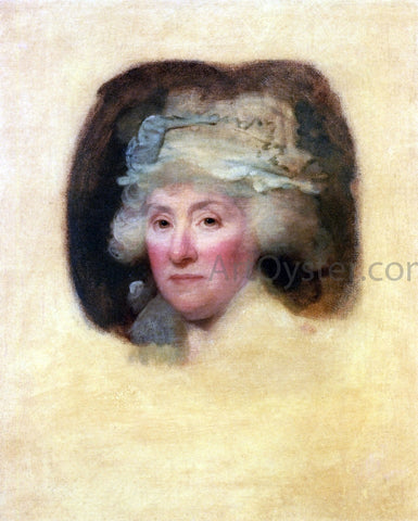 Gilbert Stuart Mrs. Robert Morris - Hand Painted Oil Painting