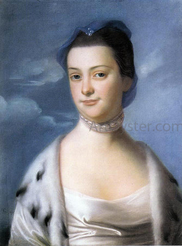 John Singleton Copley Mrs. William Turner (Ann Dumaresq) - Hand Painted Oil Painting