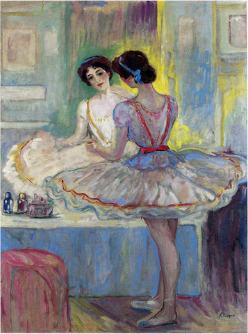 Henri Lebasque Ms Zambelli - Hand Painted Oil Painting