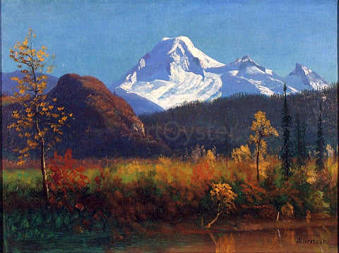Albert Bierstadt Mt. Rainier from the Southwest - Hand Painted Oil Painting