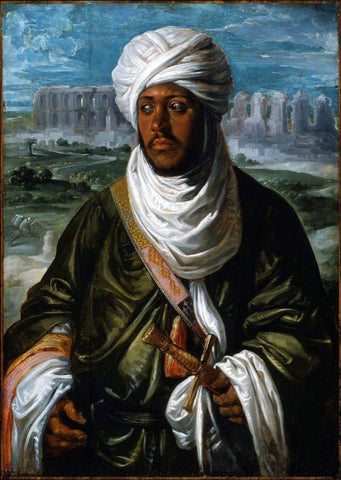 Peter Paul Rubens Mulay Ahmad - Hand Painted Oil Painting