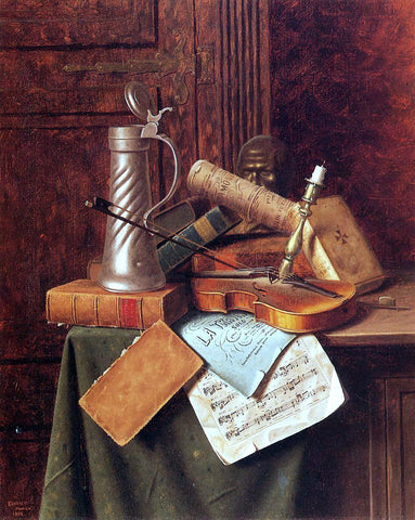 William Michael Harnett Munich Still Life - Hand Painted Oil Painting
