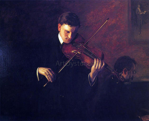 Thomas Eakins Music - Hand Painted Oil Painting
