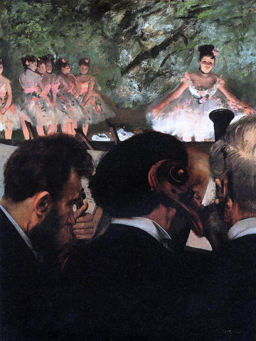 Edgar Degas Musicians in the Orchestra - Hand Painted Oil Painting
