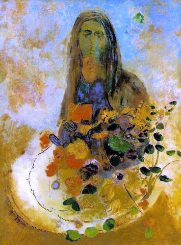 Odilon Redon Mystery - Hand Painted Oil Painting