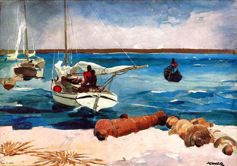 Winslow Homer Nassau - Hand Painted Oil Painting