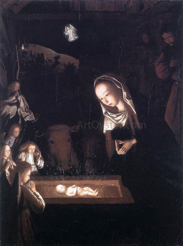Geertgen Sint Jans Nativity, at Night - Hand Painted Oil Painting