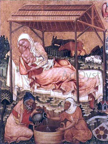 Master of Hohenfurth Nativity - Hand Painted Oil Painting