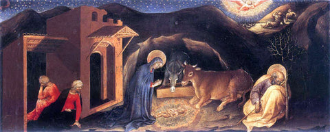 Gentile Da Fabriano Nativity - Hand Painted Oil Painting