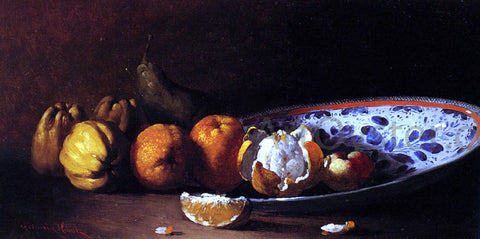 Germain Clement Ribot Nature Morte Aux Fruits - Hand Painted Oil Painting