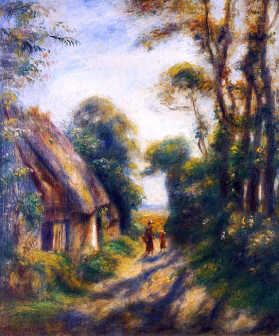 Pierre Auguste Renoir Near Berneval - Hand Painted Oil Painting