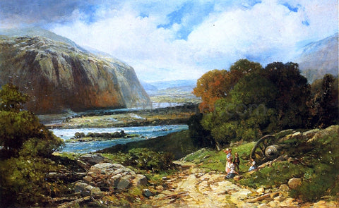 Andrew W Melrose Near Harper's Ferry - Hand Painted Oil Painting