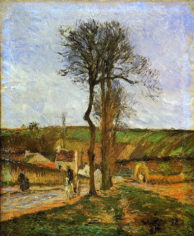Camille Pissarro Near Pointoise - Hand Painted Oil Painting