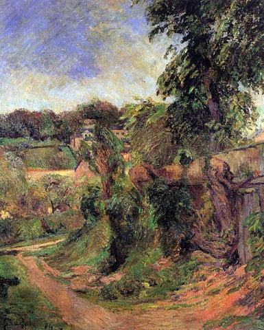 Paul Gauguin Near Rouen - Hand Painted Oil Painting