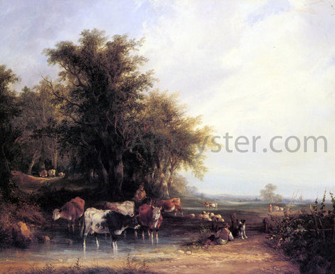 Senior William Shayer Near the New Forest - Hand Painted Oil Painting