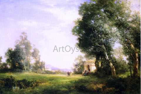 Thomas Moran Near Tula - Hand Painted Oil Painting