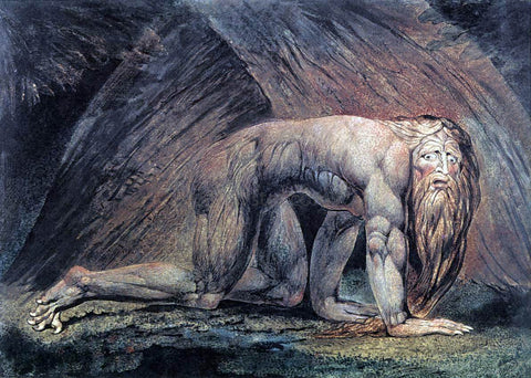 William Blake Nebuchadnezzar - Hand Painted Oil Painting