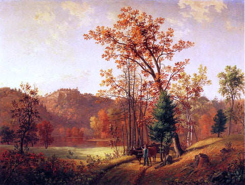 Samuel Lancaster Gerry New England Autumn (also known as Landscape, Autumn) - Hand Painted Oil Painting