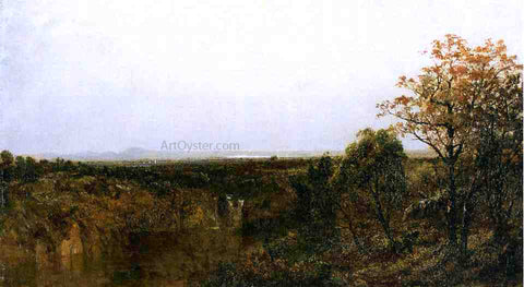 John Frederick Kensett New England Composition Scenery - Hand Painted Oil Painting