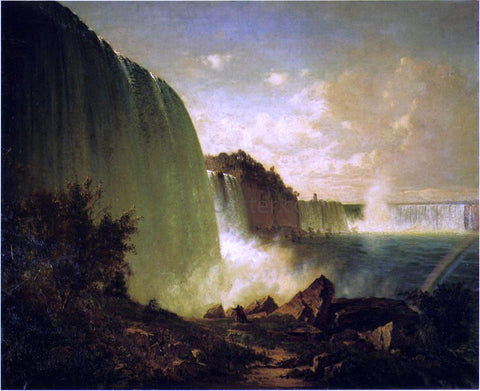 Thomas Hill Niagara Falls - Hand Painted Oil Painting