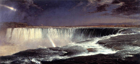 Frederic Edwin Church Niagara Falls - Hand Painted Oil Painting