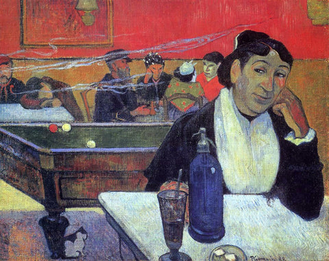 Paul Gauguin Night Cafe at Arles - Hand Painted Oil Painting
