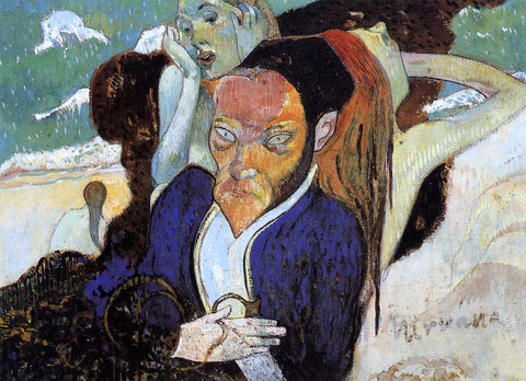 Paul Gauguin Nirvana (also known as Portrait of Meyer de Hasn) - Hand Painted Oil Painting