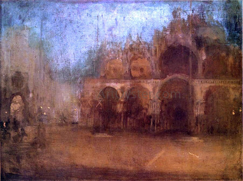James McNeill Whistler Nocturne: Blue and Gold - St Mark's, Venice - Hand Painted Oil Painting