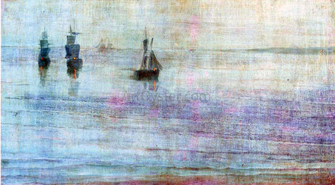 James McNeill Whistler Nocturne: the Solent - Hand Painted Oil Painting