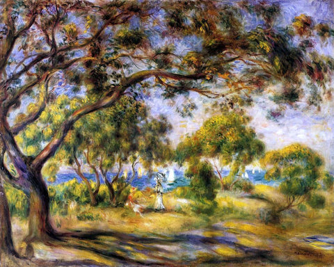 Pierre Auguste Renoir Noirmoutiers - Hand Painted Oil Painting