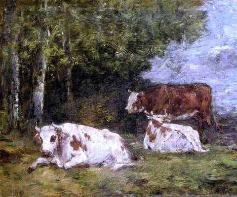 Eugene-Louis Boudin A Norman Pasture - Hand Painted Oil Painting