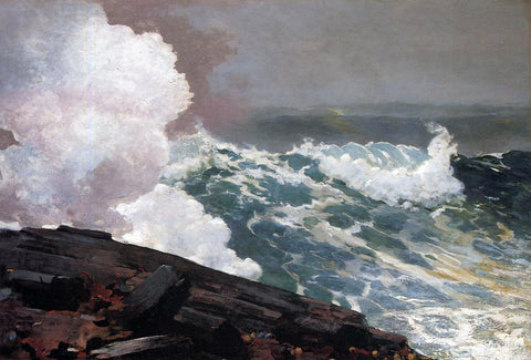 Winslow Homer Northeaster - Hand Painted Oil Painting