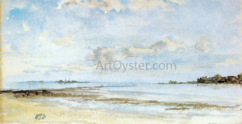 James McNeill Whistler Note in Blue and Opal - Hand Painted Oil Painting