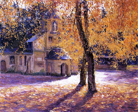 Guy Orlando Rose Notre Dame de Grace, Honfleur - Hand Painted Oil Painting