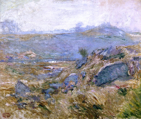 John Twachtman November Haze (also known as Upland Pastures) - Hand Painted Oil Painting