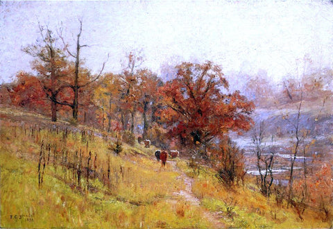 Theodore Clement Steele November's Harmony - Hand Painted Oil Painting