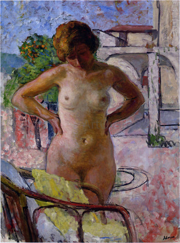 Henri Lebasque A Nude in Provence - Hand Painted Oil Painting