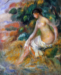 Pierre Auguste Renoir Nude in the Greenery - Hand Painted Oil Painting