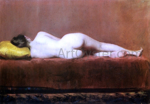 William Merritt Chase Nude Recumbent - Hand Painted Oil Painting