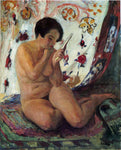 Henri Lebasque Nude Seated by a Mirror - Hand Painted Oil Painting