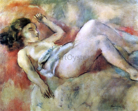 Jules Pascin Nude Sleeping - Hand Painted Oil Painting