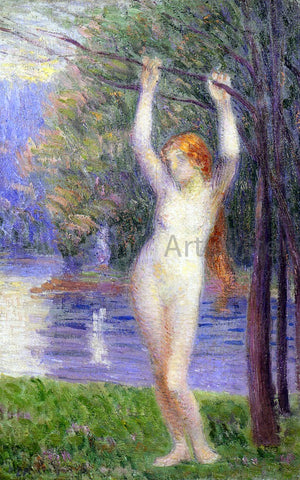 Hippolyte Petitjean Nude Woman - Hand Painted Oil Painting