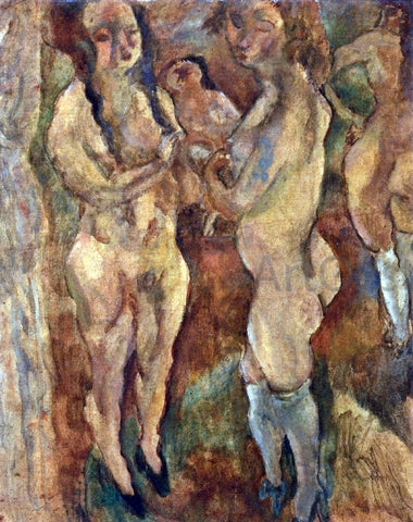 Jules Pascin Nude Women - Hand Painted Oil Painting