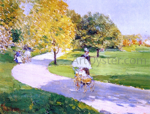 Frederick Childe Hassam Nurses in the Park - Hand Painted Oil Painting