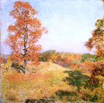 Willard Leroy Metcalf Nut Gathering - Hand Painted Oil Painting