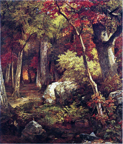 William Trost Richards October - Hand Painted Oil Painting