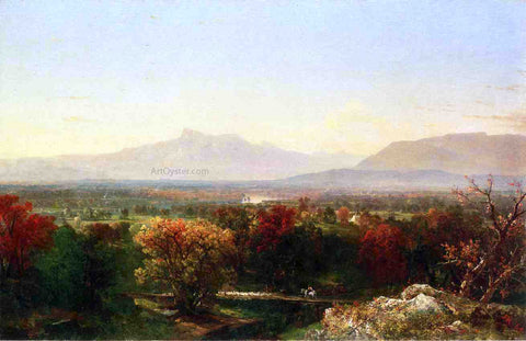 John Frederick Kensett October Day in the White Mountains - Hand Painted Oil Painting